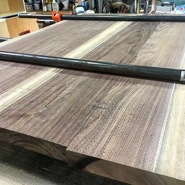 Custom Table Top Being Made
