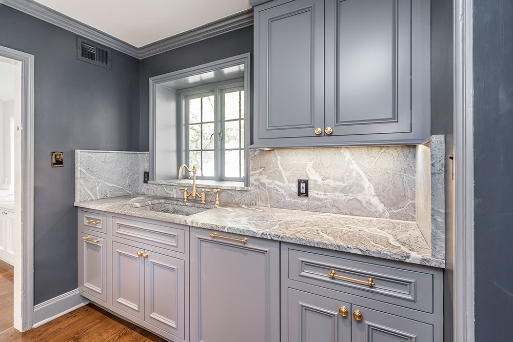 Custom Kitchen Counter Space and Cabinets